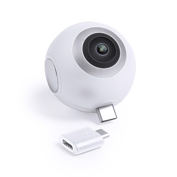 360° Camera Ribben - White