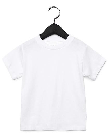 Toddler Jersey Short Sleeve Tee - White / 4 years
