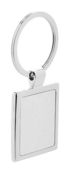 Schlüsselanhänger Rectangle - Grau