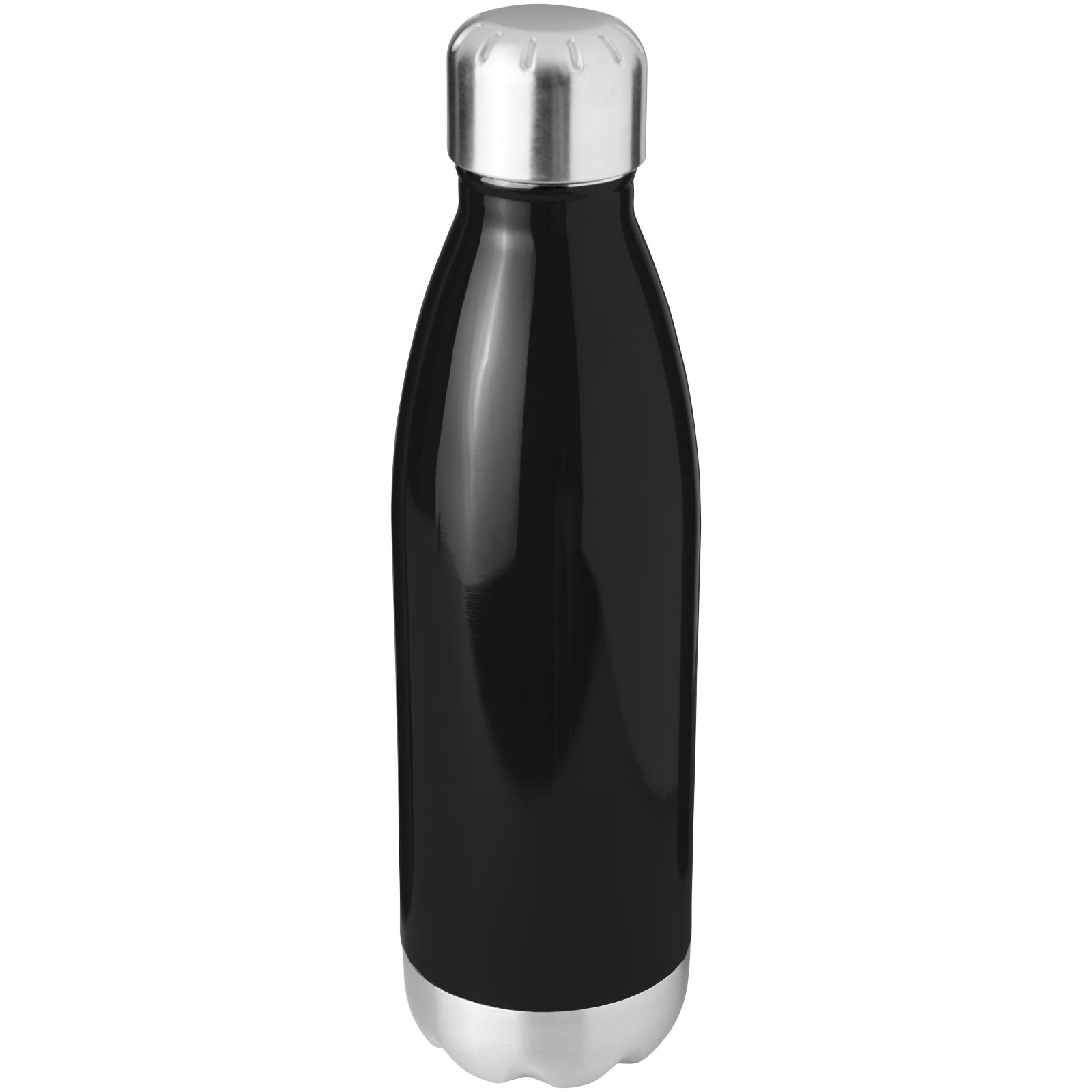 Arsenal 510 ml vacuum insulated bottle - Solid black