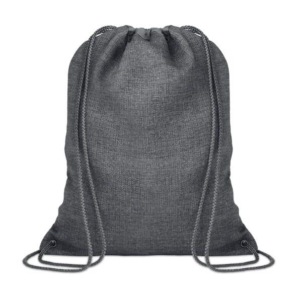 1200D heathered drawstring bag Tocayo - Grey