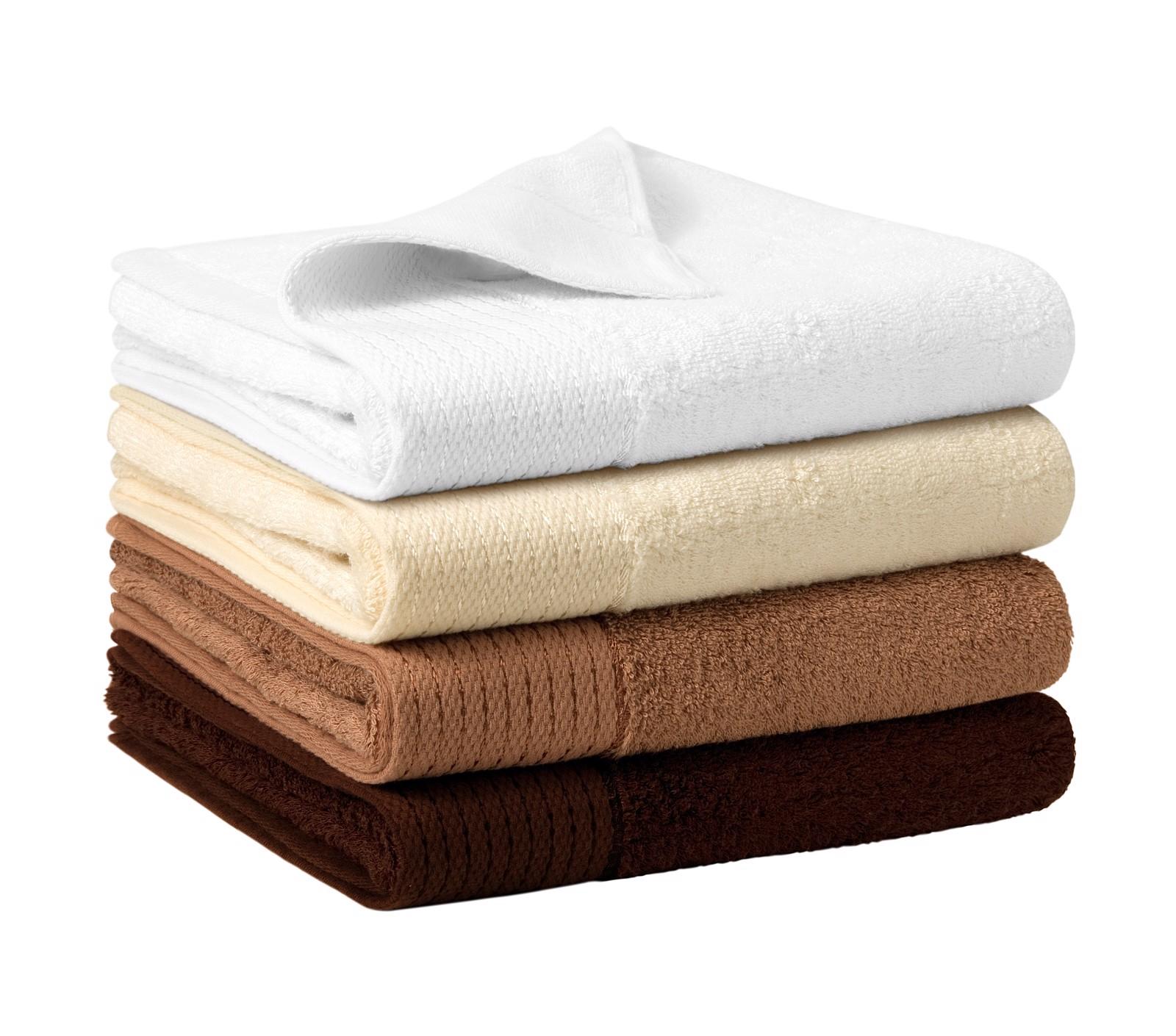 Towel unisex Malfinipremium Bamboo Towel - White / 50 x 100 cm