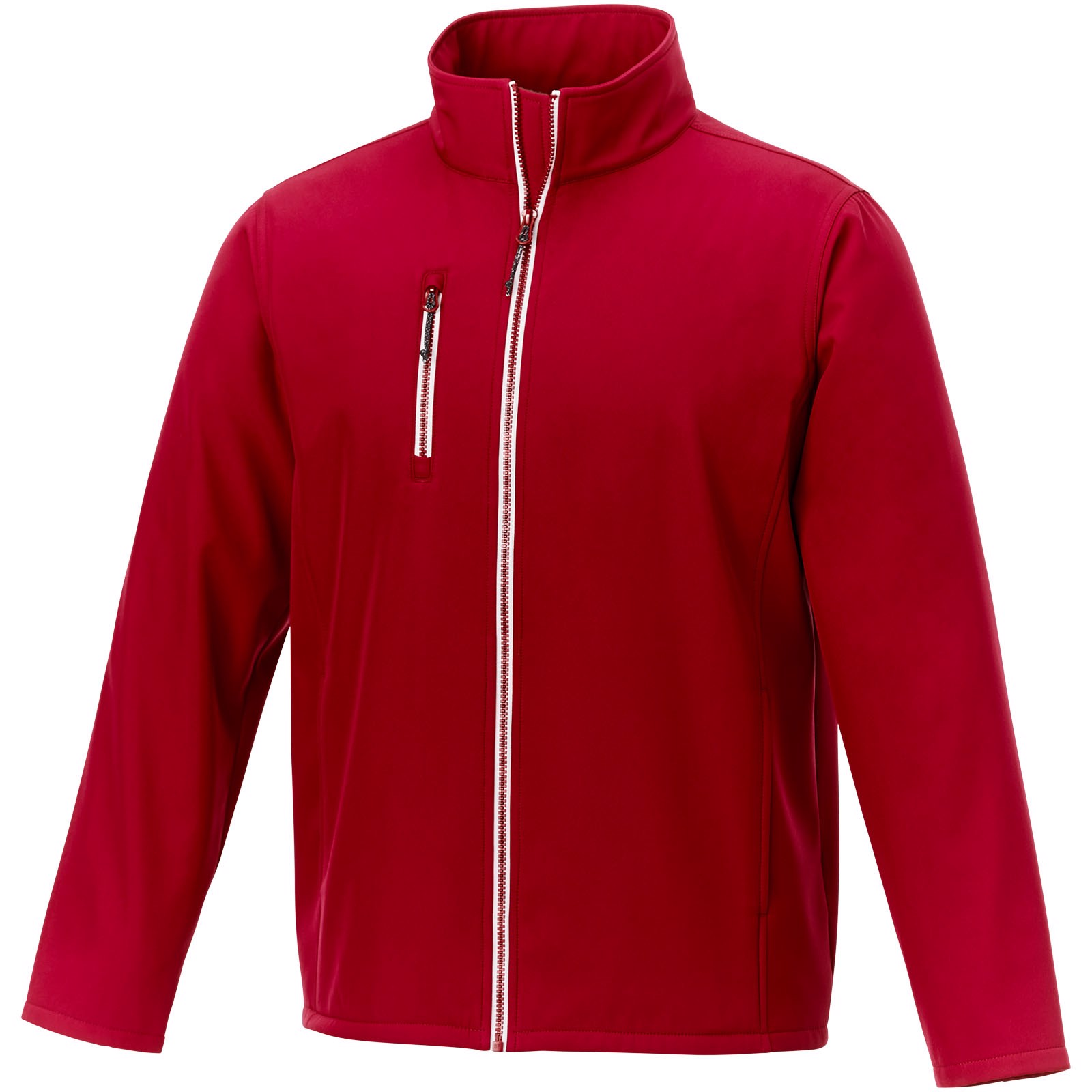 Orion men's softshell jacket - Red / 3XL