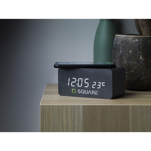Avant Wireless Charging Digi Clock alarm clock