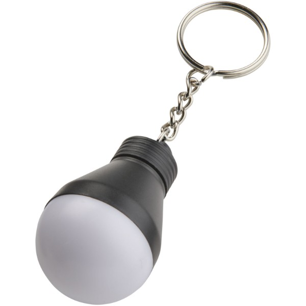 Aquila LED světlo na klíče - Černá lesklá / Bílá