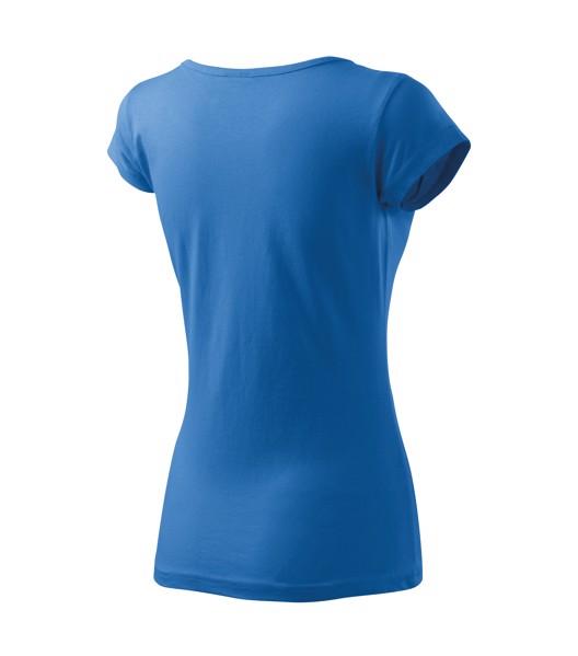 Tričko dámské Malfini Pure - Azurově Modrá / S