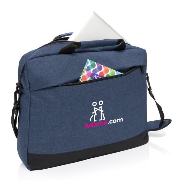 """Trend 15""""-os laptop táska - Sötétkék / Fekete"""