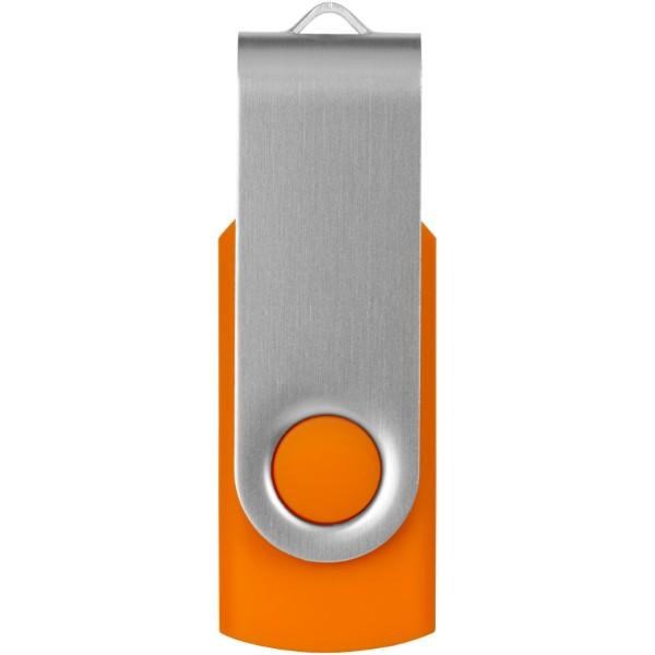 USB disk Rotate-basic, 2 GB - 0ranžová / Stříbrný