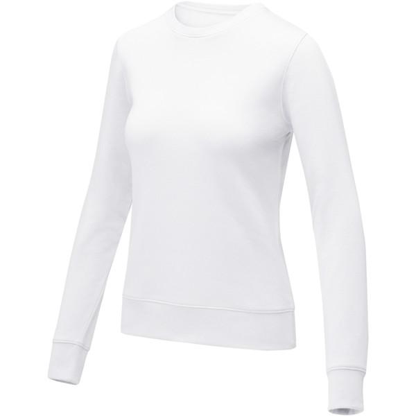 Zenon women's crewneck sweater - White / XS