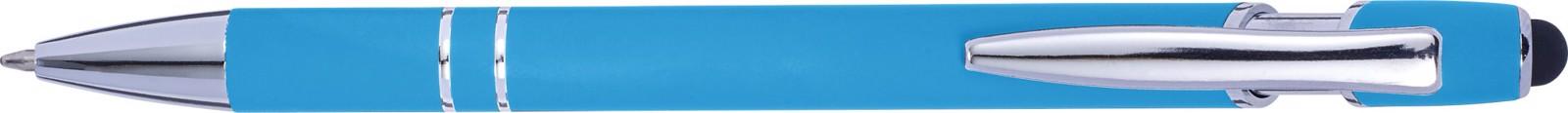 Aluminium ballpen - Light Blue