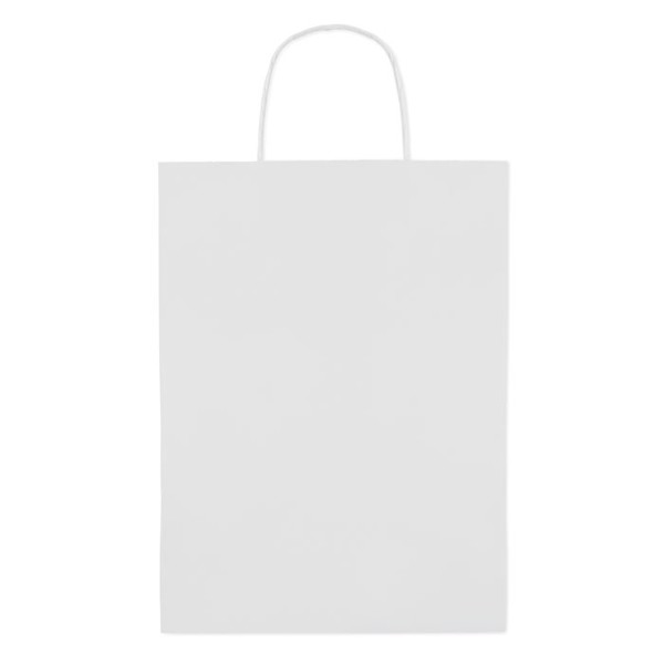Gift paper bag large size Paper Large - White