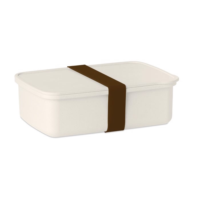 Obědová krabička s gumičkou Nanbox - brown