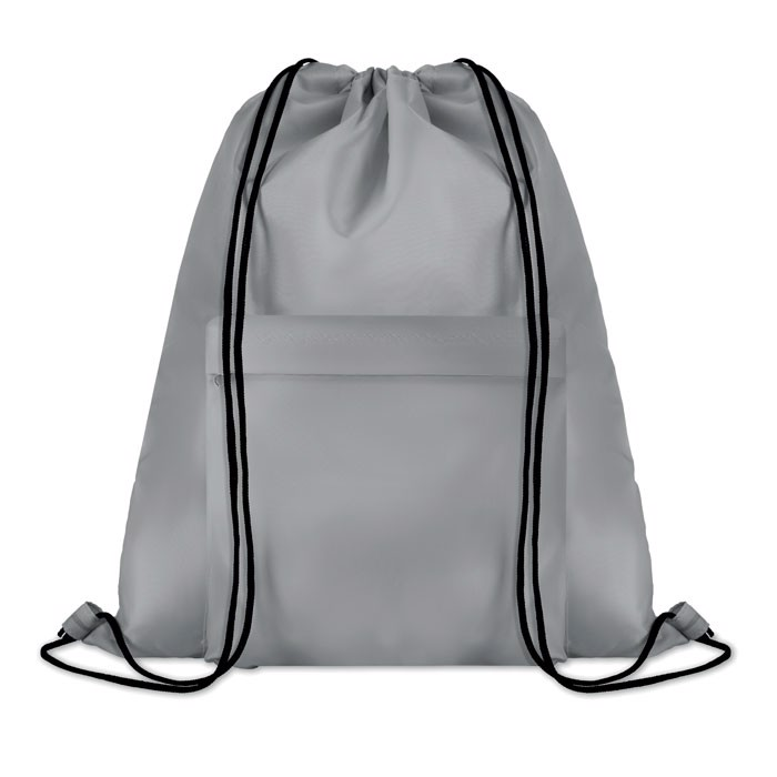 Large drawstring bag Pocket Shoop - Grey