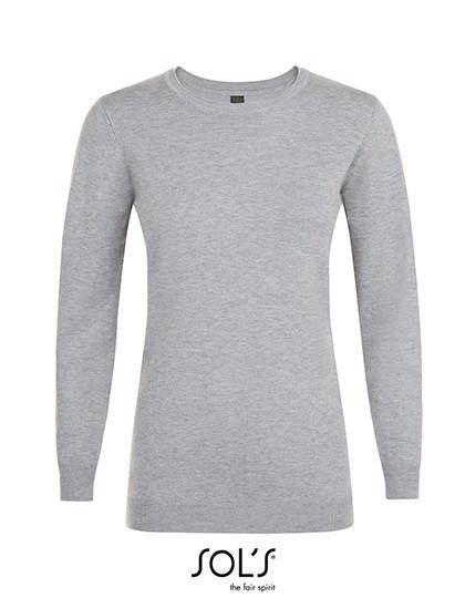 Ginger Women Sweater - Grey Melange / XXL