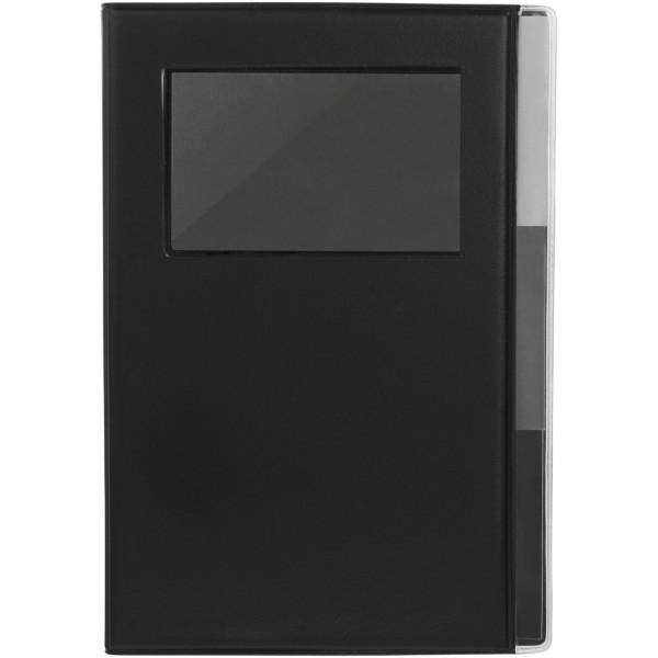 Zápisník s pevnou obálkou A5 Tasker - Černá