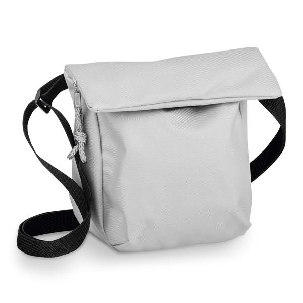 SHANNON. Polyesterová 600D taška - Světle Šedá
