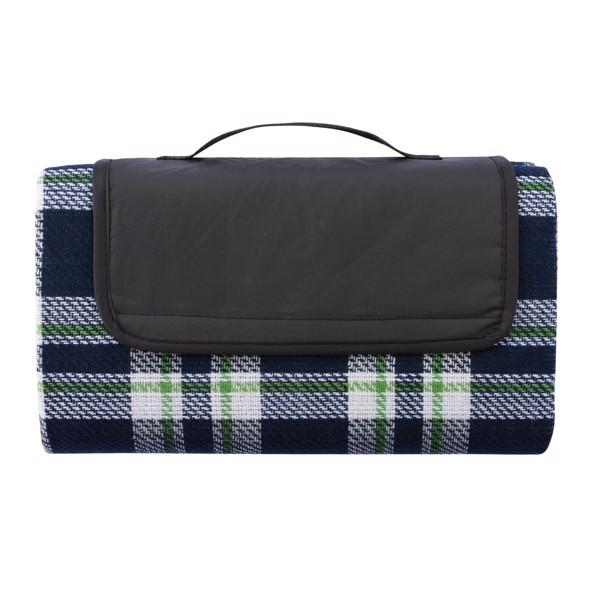 Pikniková deka Tartan - Námořní Modř