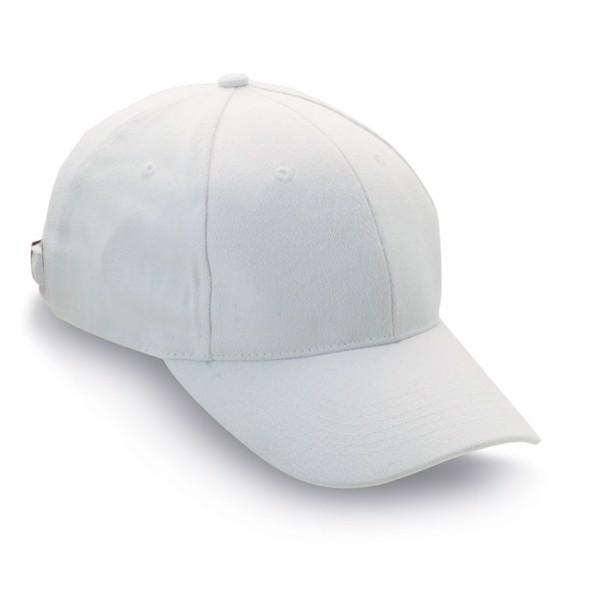 Baseball sapka Natupro - fehér-TESZT