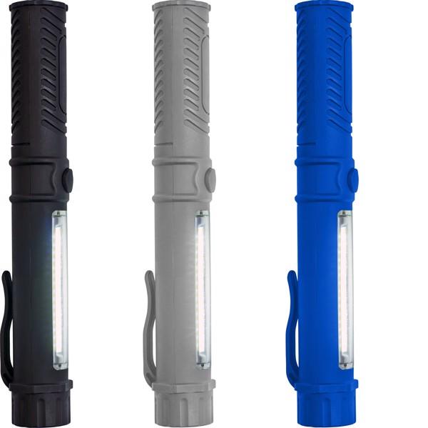 ABS work light/torch - Cobalt Blue