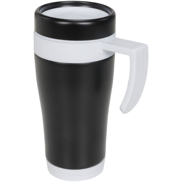 Cayo 400 ml insulated mug - White