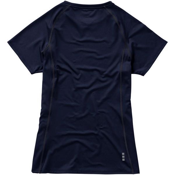Dámské triko Kingston s krátkým rukávem, s povrchovou úpravo - Navy / XXL