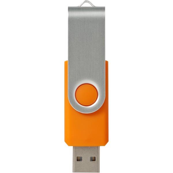 USB disk Rotate-basic, 8 GB - 0ranžová / Stříbrný