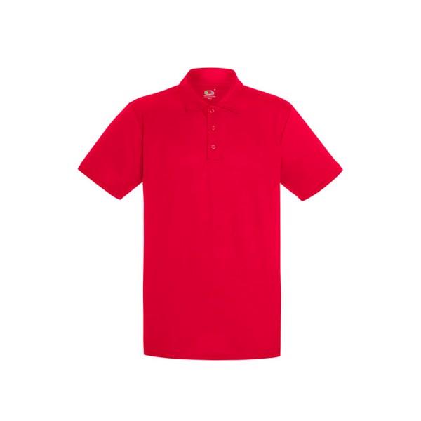 Męska Koszulka polo sportowa Performance Polo 63-038-0 - Czerwony / S