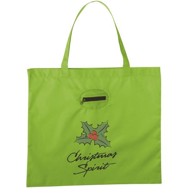 Skládaná nákupní taška - Limetka