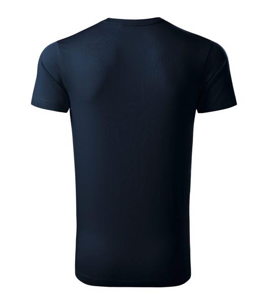 Tričko pánské Malfinipremium Exclusive - Námořní Modrá / 2XL
