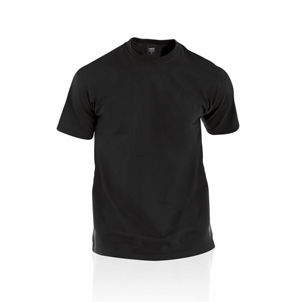 Camiseta Adulto Color Premium - Negro / XXL