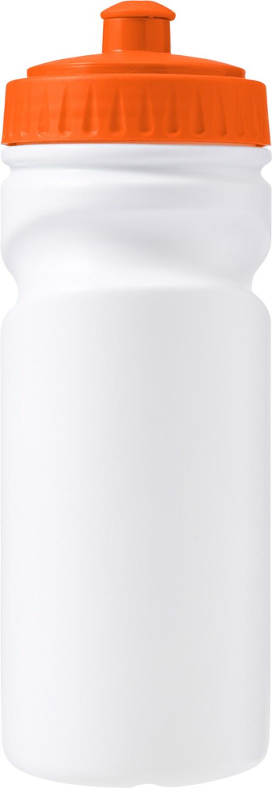 HDPE bottle - Orange