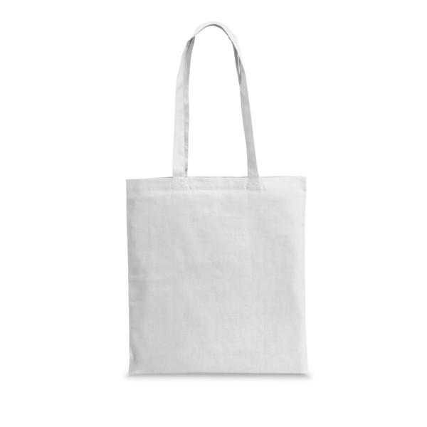 WHARF. Einkaufstasche langer Henkel - Weiß