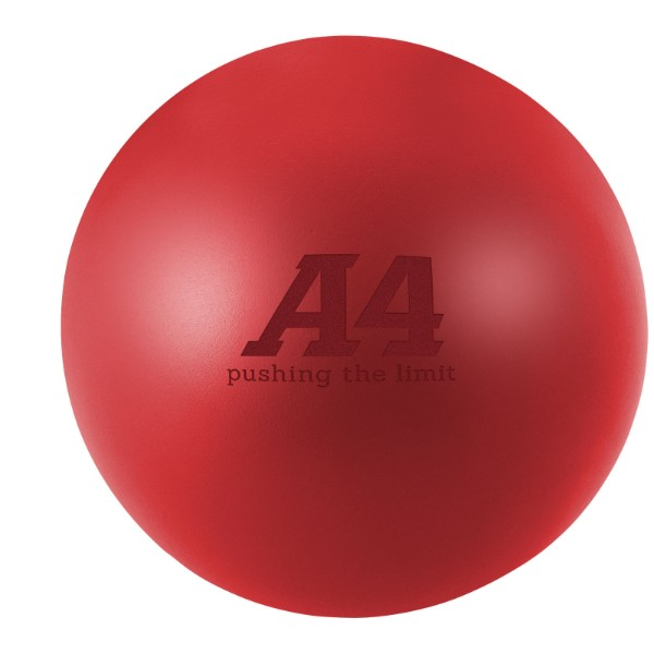Cool runder Antistressball - Rot