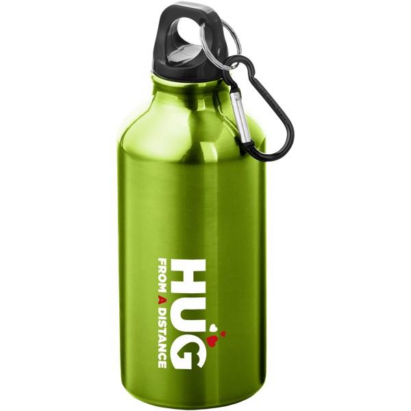 Oregon 400 ml sport bottle with carabiner - Apple green