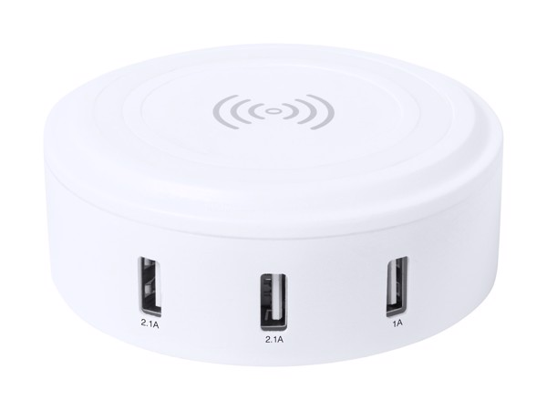 Încărcător Wireless Mandux - Alb