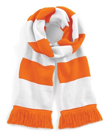 Stadium Scarf - Orange / White / One Size