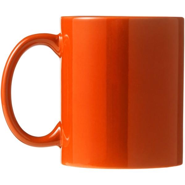 Ceramic Geschenkset mit 4 Bechern - Orange