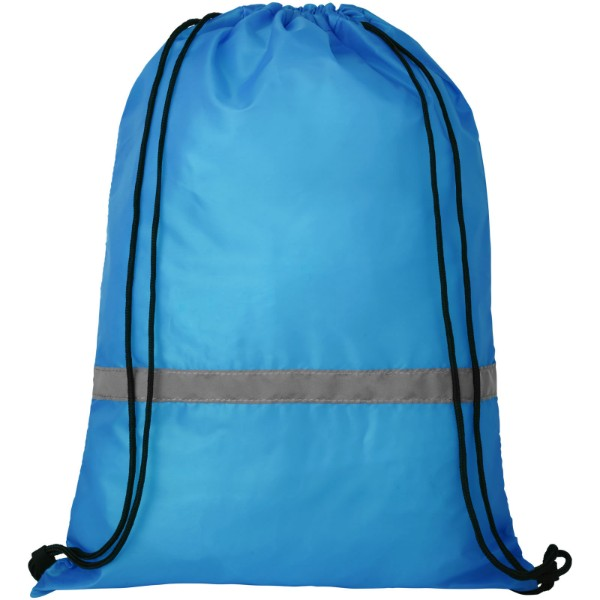 Oriole safety drawstring backpack - Ocean blue