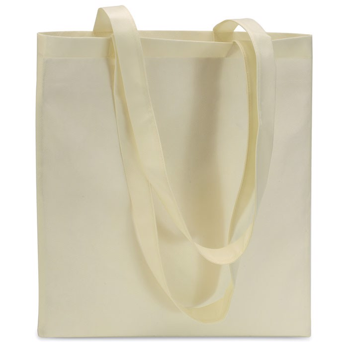 shopping bag in nonwoven Totecolor - Ivory
