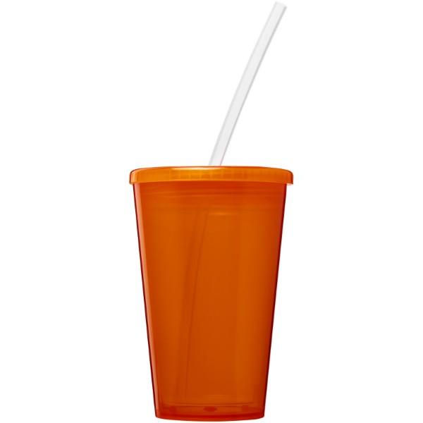 Stadium 350 ml double-walled cup - Orange