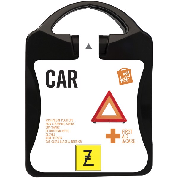 MyKit Car First Aid Kit - Solid Black