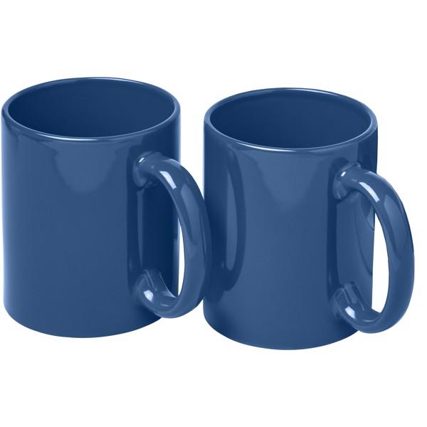 Dárková sada dvou hrnků Ceramic - Modrá