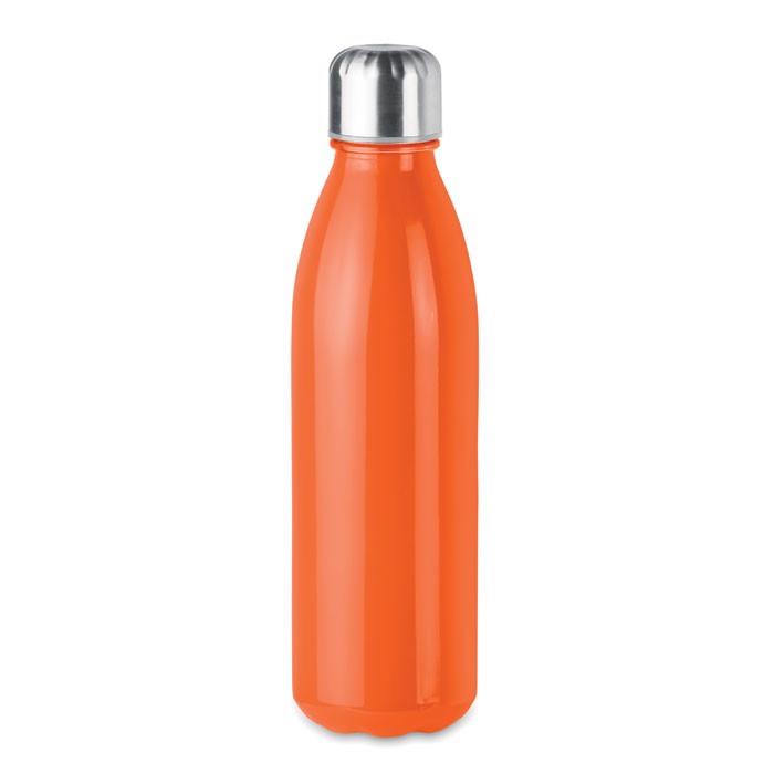 Szklana butelka  650 ml Aspen Glass - pomarańczowy