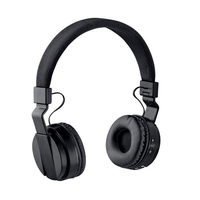 Foldable Bluetooth Headphone Pulse - Black