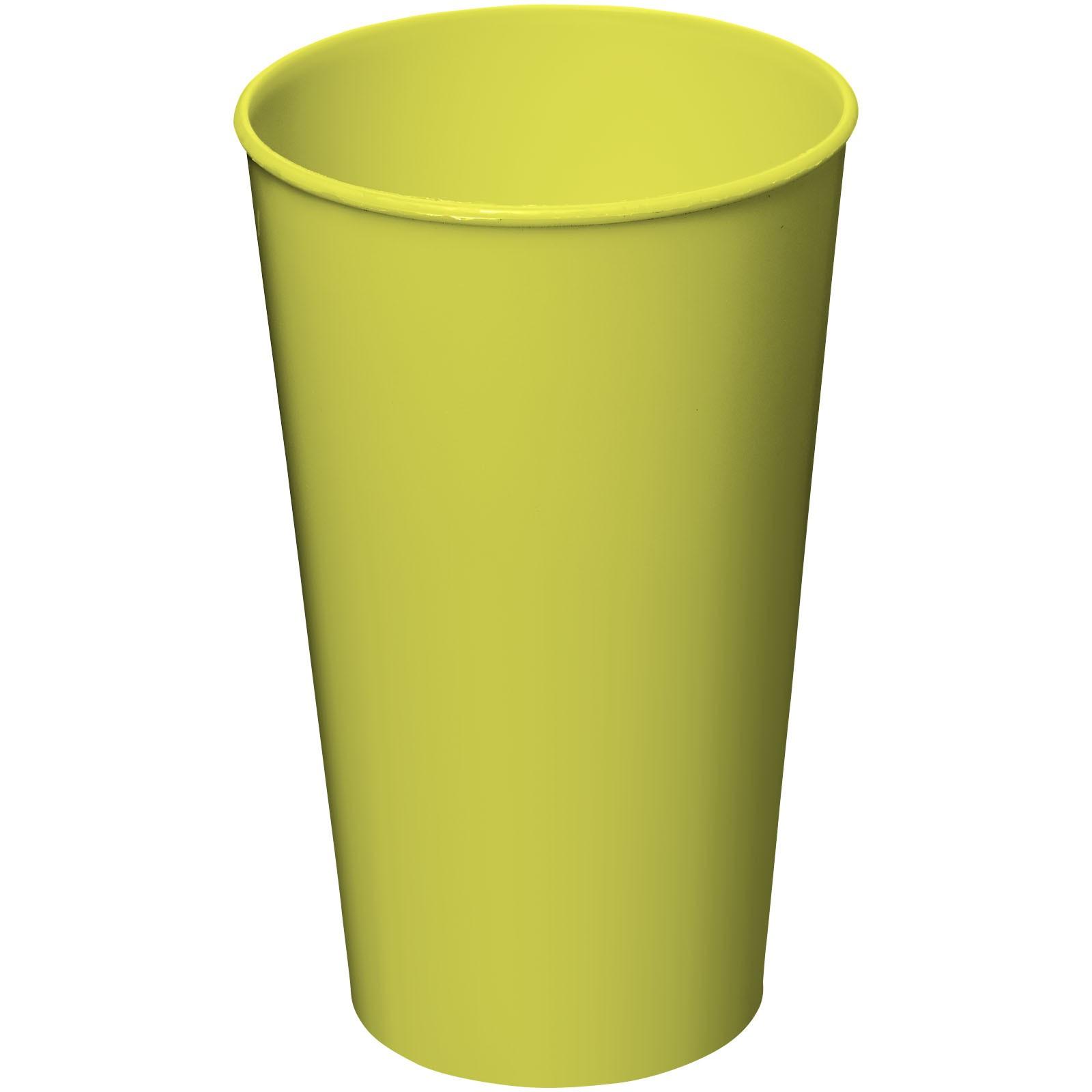 Plastový kelímek Arena 375 ml - Limetka