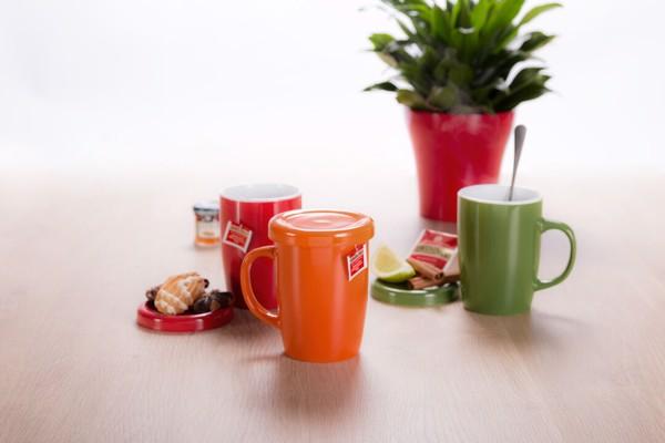 Chávena Passak - Vermelho