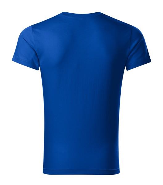 Tričko pánské Malfini Slim Fit V-neck - Královská Modrá / 2XL