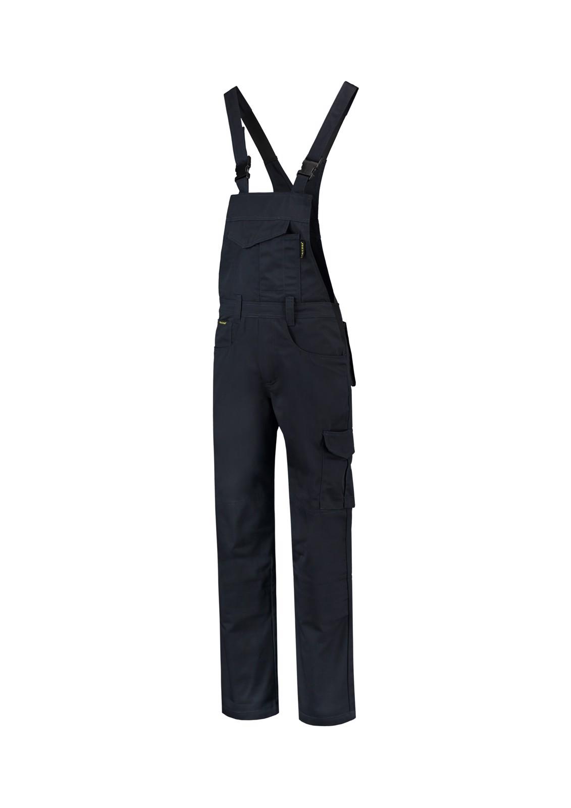 Pracovní kalhoty s laclem unisex Tricorp Dungaree Overall Industrial - Námořní Modrá / 2XL