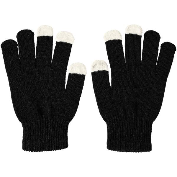 Billy taktile Handschuhe - Schwarz
