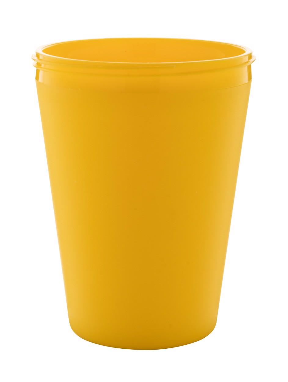 Termo Hrnek Na Zakázku CreaCup Mini - Žlutá / B